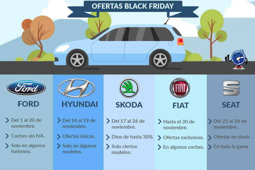 Coches de Blackfriday