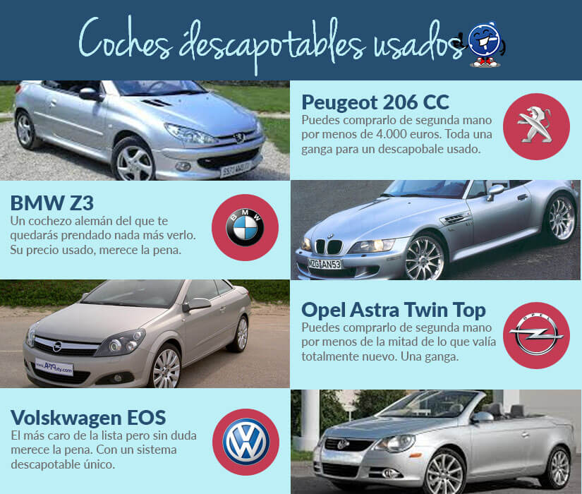 Top coches descapotables