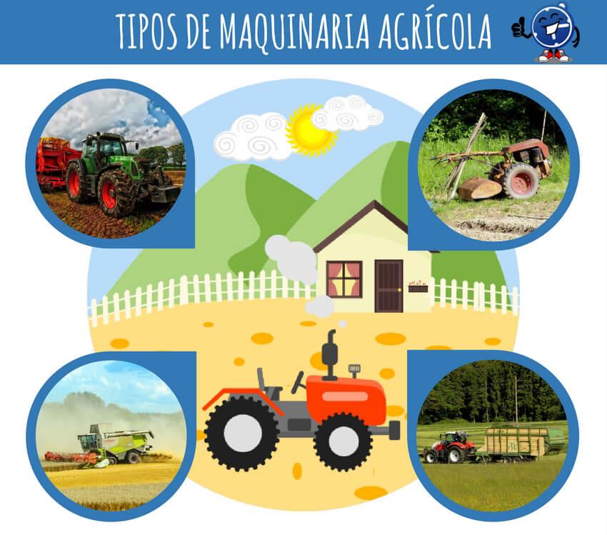 Qué tipos de máquinas agrícolas hay - Seguropordias®